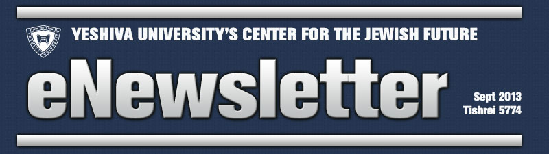 Yeshiva Universty's Center for the Jewish Future