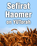 Sefirat Haomer on YUTorah