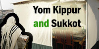 Transitioning from Yom Kippur to Sukkot