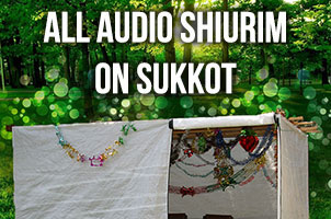 Sukkot audio shiurim and resources on YUTorah
